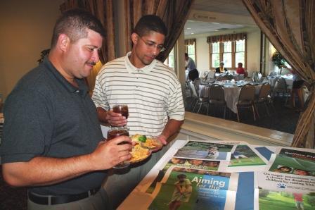 Bridgeport Education Association members Herminio and Luis Planas.