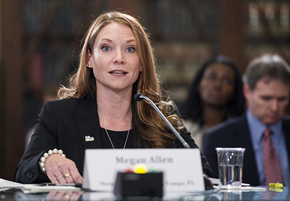 Florida teacher Megan Allen told federal lawmakers that