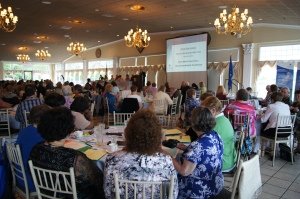 Over 150 CEA Retired members gathered today for the organization's annual spring business meeting.