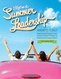 CEA Summer Leadership Brochure 2013