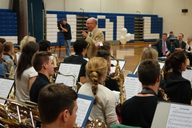 John Mastroianni, Director of Bands at Hall High School in West Hartford, is Connecticut's 2014 Teacher of the Year.