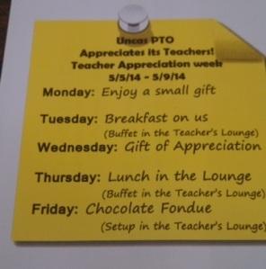 teacher appreciation uncas