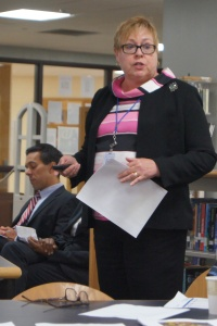 Litchfield Superintendent Wheeler presented to the State Common Core Task Force yesterday.