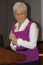 Lieutenant Governor Nancy Wyman told educators we need to do whatever we can to make education number one in our state.