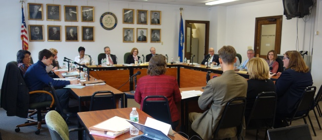 The State Board of Education heard updates about SBAC and the state's No Child Left Behind waiver at its meeting yesterday.