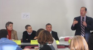 West Hartford Education Association meet with lawmakers