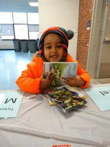 Bloomfield students and community members were excited to be able to take home some new-to-them books thanks to a book swap organized by the Bloomfield Education Association.