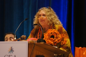 CEA President Sheila Cohen was re-elected to a second three-year term as CEA President at the 2015 CEA Representative Assembly.