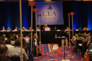 The CEA Representative Assembly took place May 15 and 16, 2015.
