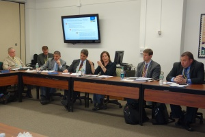 Members of the High School Assessment Working Group heard from SAT and ACT representatives at a meeting in December.