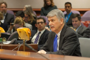 CEA Director of Policy, Research, and Reform Donald Williams spoke to members of the legislature's Education Committee.