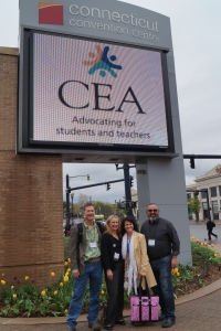 West Hartford teachers are all ready for the CEA RA.