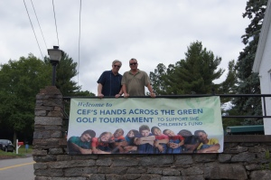 CEA Vice President and CEF President Jeff Leake and CEA Treasurer Tom Nicholas.