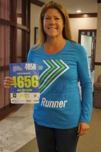 CEA Secretary Stephanie Wanzer has run the Hartford Marathon on behalf of Team CEA