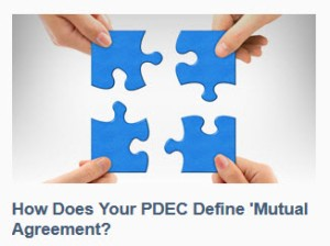 PDEC mutual agreement