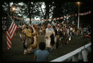 Grand Entry, Omaha Powwow Project Collection. American Folklife Center, Library of Congress.