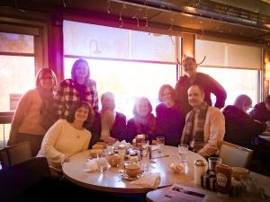 Meeting with State Senator Toni Boucher (3rd from right) were local Association leaders Ronna Van Veghel, New Canaan; Vivian Birdsall, New Canaan; Jeanne Deming, Ridgefield; Al Anderson, Bethel; Cynthia Rohr, Redding; John Horrigan, Westport; Andrew Nicsaji, Wilton.
