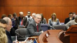 Mark Waxenberg testified before the Education Committee today.